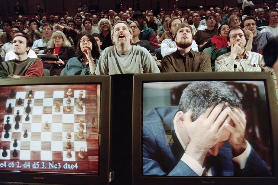 Chess champion Garry Kasparov, who was replaced by AI, says that most jobs in the US are next.